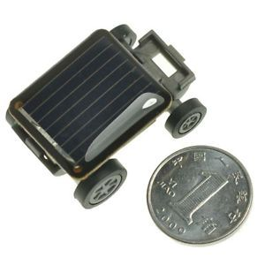 Solar Panel Cell Mini Miniature Car Auto Toy Educational Gifts for Kids Children