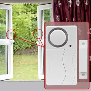 Magnetic Wireless Remote Home Window Door Entry Burglar Security Alarm System