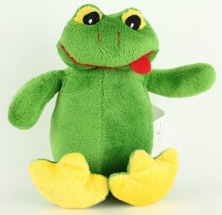 Kreative Kids Green Frog Froggy Plush Stuffed Lovey Toy Animal