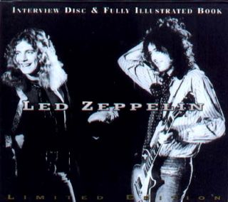 LED Zeppelin Import CD Book Welch Limited Ed