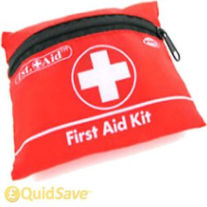 38pc First Aid Kit Emergency Safety Travel Home Office Bike Car Work Sports