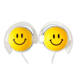 On The Ear Cute Smile Childrens Kids Boys Girls Earphones Headphones LeapPad PC