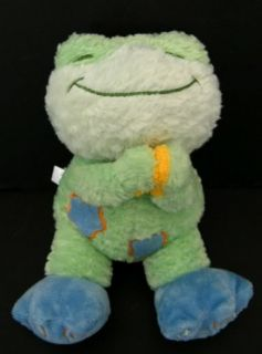 Smooches Green Frog Praying Bright Starts Plush Lovey