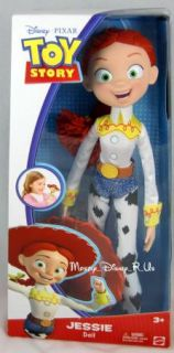 New Disney Toy Story Jessie Fashion Doll with Hat
