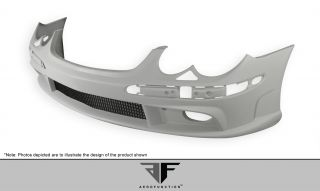 2003 2008 Mercedes Benz SL Class R230 Aero Function AF 1 Front Bumper Body Kit