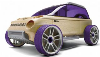 Automoblox x9 x Sport Utility SUV Kids Wooden Building Block Toy 985010 New