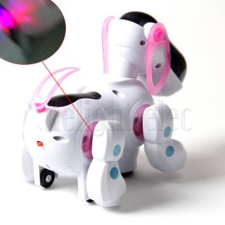 Robotic Electronic Walking Singing Pet Dog Puppy with Music Light Kid Toy Gift