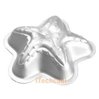 Aluminum Little Starfish Shape Cake Cake Mold Baking Equipment Supplies T1K