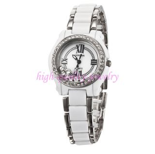 Geneva Shiny Rhinestones Womens Girls Ladies Bracelet Quartz Analog Wrist Watch
