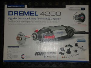 Dremel 4200 High Performance Rotary Tool with EZ Change