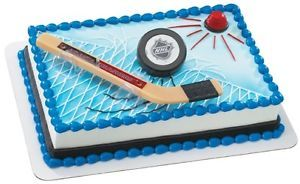 Atlanta Thrashers NHL Hockey Birthday Party Cake Kit Decoration