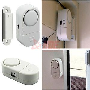 4X Wireless Home Security Door Window Entry Alarm Warning System Magnetic Sensor