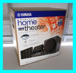 Yamaha YHT 799U 5 1 Channel Home Theater in A Box Speaker System YHT 799UBL Htib