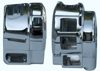 Suzuki GSXR 600 750 1000 Hayabusa Chrome Switch Housings