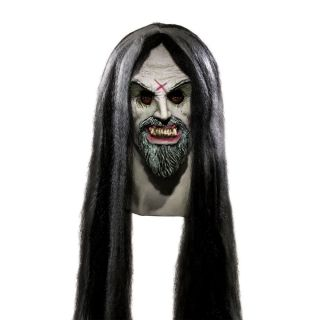 Rob Zombie Deluxe Latex Overhead Mask w Hair Adult Halloween Costume Horror