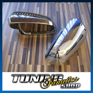 "Audi ""s"" Chrome Mirror Covers Caps Housings Audi A6 S6 4B C5 Avant"