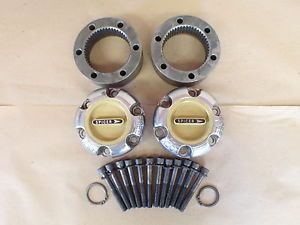 Dana 44 Big Hub Front Spicer Manual Locking Hubs 19 Spline Yellow