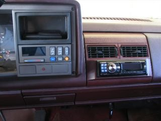 Chevy GMC Radio Install Replacement Pocket Dash Kit