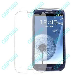 For Samsung Galaxy s 3 III i9300 Clear LCD Screen Protector Film Guard Shield X3