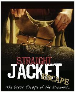 Straight Jacket Escape Instructional DVD Magician Magic Trick Houdini Canvas