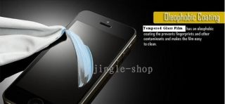New Tempered Glass Protector Scratch Resistant for iPhone 4 4S Shield Screen Kit
