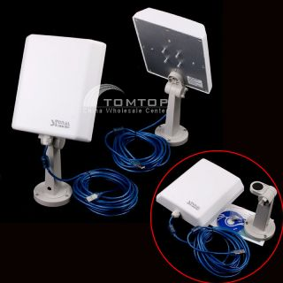 High Power Signal King 20dBi Outdoor USB Wireless Adapter Antenna 150Mbps