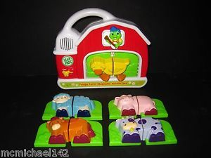 LeapFrog Fridge Phonics Farm Animal Barn Magnetic Refrigerator Learning Complete