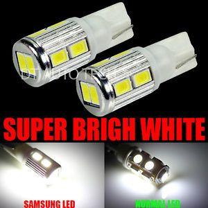 10x Samsung High Power RV Trailer Interior 6000K White LED Light Bulbs Bulb SMD