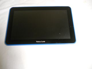 Broken Glass Visual Land Prestige 10 16GB Wi Fi 10in Internet Tablet Blue