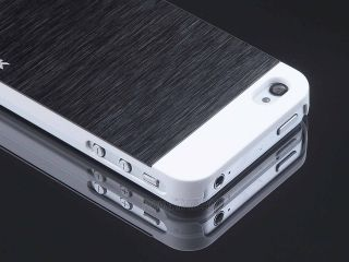 Ultra Thin Brushed Aluminum Hard Cover Case for iPhone 4 4S Screen Protector Pen