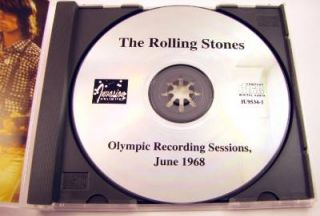 "The Rolling Stones Orig Invasion Unlimited CD ""Olympic Sessions June 1968"""