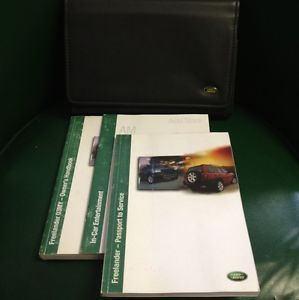 2003 Land Rover Freelander Owners Manual