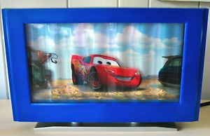 Motion Lamp Light Disney's Pixar Cars Lighting McQueen Moving TV Screen