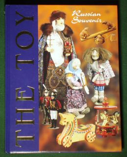 Book Russian Toy Folk Art Costume Designer Doll History