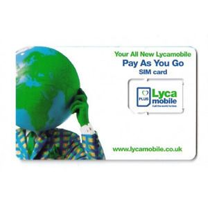 Lycamobile Pre Cut Micro Sim Card for iPhone 4 4S Unlocked GSM Phones New