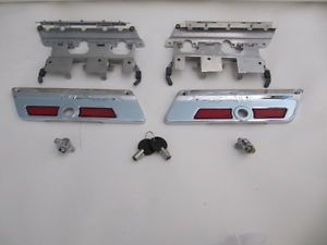 Hard Saddl Latches Locks Keys and Covers for Harley Davidson Touring