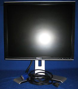 Dell UltraSharp 1907FP Silver 19 inch Flat Panel LCD Monitor Professional Series