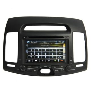 07 10 Hyundai Elantra Car GPS Navigation Radio TV Bluetooth  iPod DVD Player