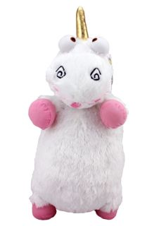 "Despicable Me Super Cute Fluffy Unicorn Soft Plush Doll Toy Large 25"" New"