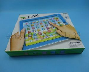 Spanish Y Pad Children Learning Machine Espana Tablet Learning Toy for Kids
