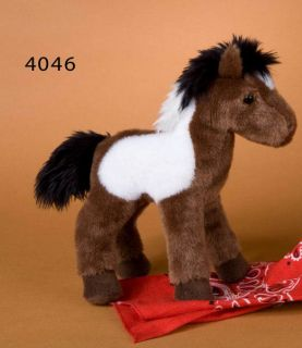 Douglas Toys Plush 8'' Aztec Indian Paint Horse New