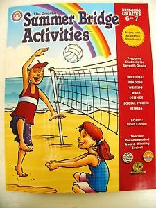 Summer Bridge Activities by Rainbow Bridge Publishing Staff 2010, Paperback