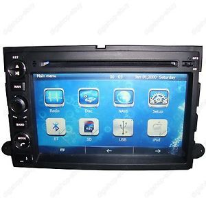 "7"" Car GPS DVD Player Navigation for Ford F150 2004 2008 Free 3D GPS Maps"