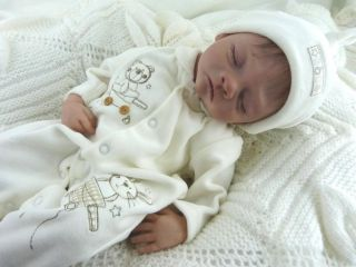 Reborn Baby Girl Doll from Chloe Kit by Joanna Gomes