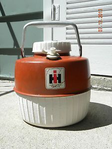 Vintage IH International Harvester Tractor Coleman Water Jug Cooler 1959 Bracket