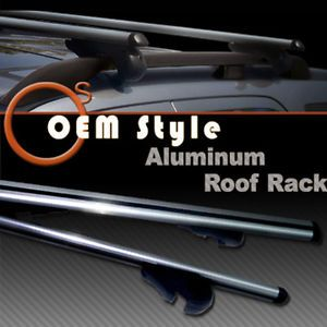 Aluminum Roof Rack Cross Bars Cargo Carrier Lock Subaru Legacy Impreza Forester