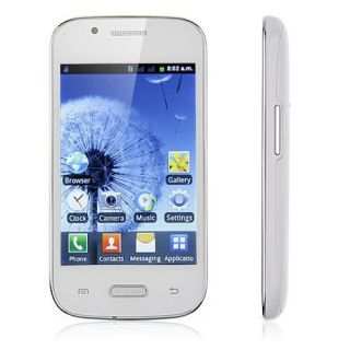 "4 0"" Multi Touch Android 2 3 Unlocked Dual Sim WiFi TV Cell Phone T Mobile New"