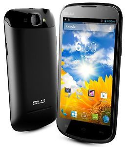 New Blu Dash 4 5 D310I Unlocked GSM Dual Sim Android Cell Phone Black