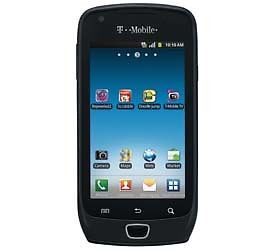 New Samsung Exhibit 4G SGH T759 Android Black Unlocked GSM Smart Cell Phone WiFi