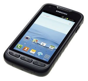 Unlocked at T Samsung Galaxy Rugby Pro SGH I547 GSM Black Smart Cell Phone 9684